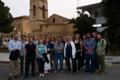 RTI group in the old city of Nicosia