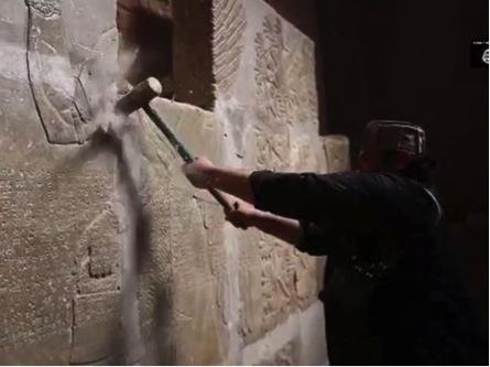 ISIS destruction at Nimrud