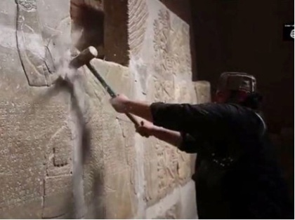 ISIS destruction at Nimrud